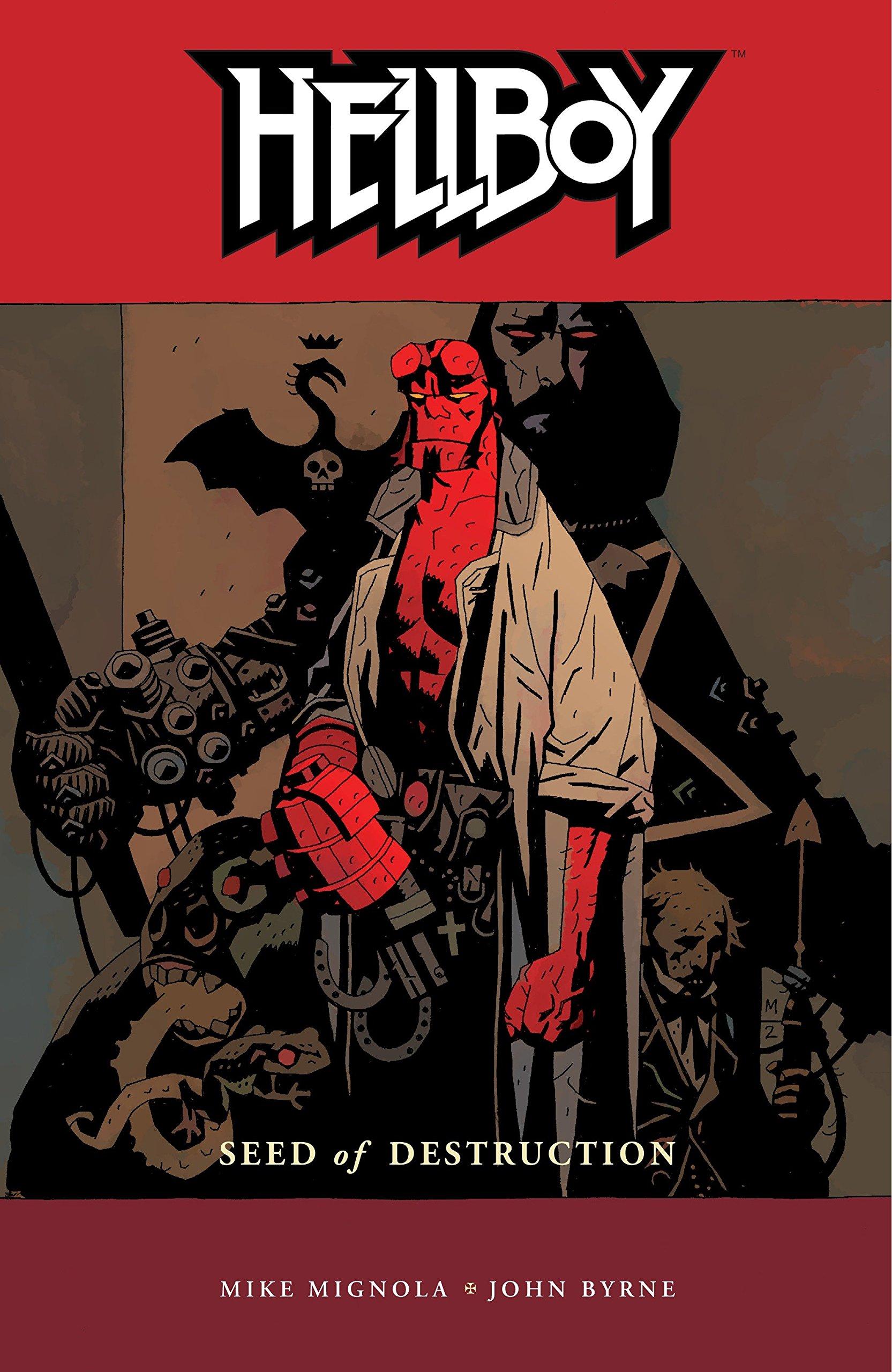 Read Hellboy Vol 1 Seed Of Destruction By Mike Mignola