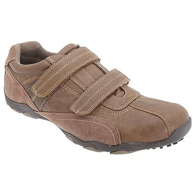 6cd0c592f5c03 Route 21 - Zapatos zapatillas casuales con cierre de velcro Hombre Caballero   Amazon.es  Zapatos y complementos