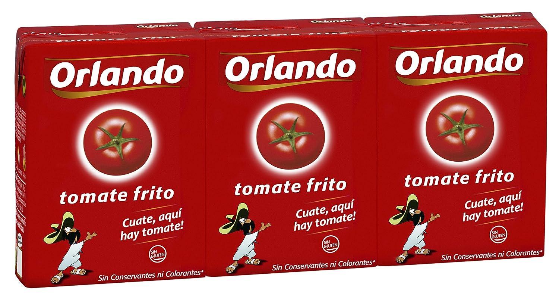 Orlando - Tomate Frito Clásico, Brik De 3 x 210 g: Amazon.es: Alimentación y bebidas