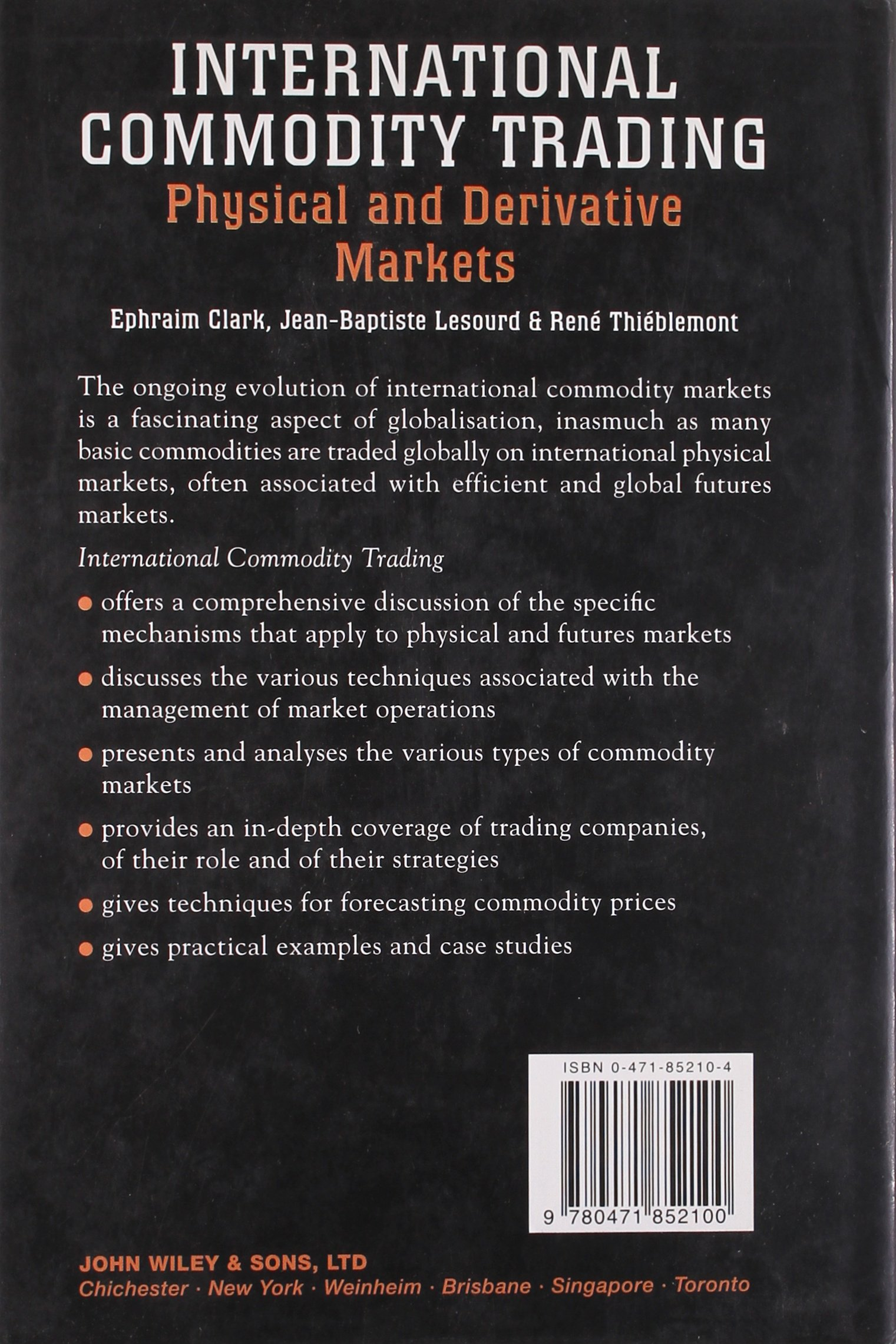 International Commodity Trading