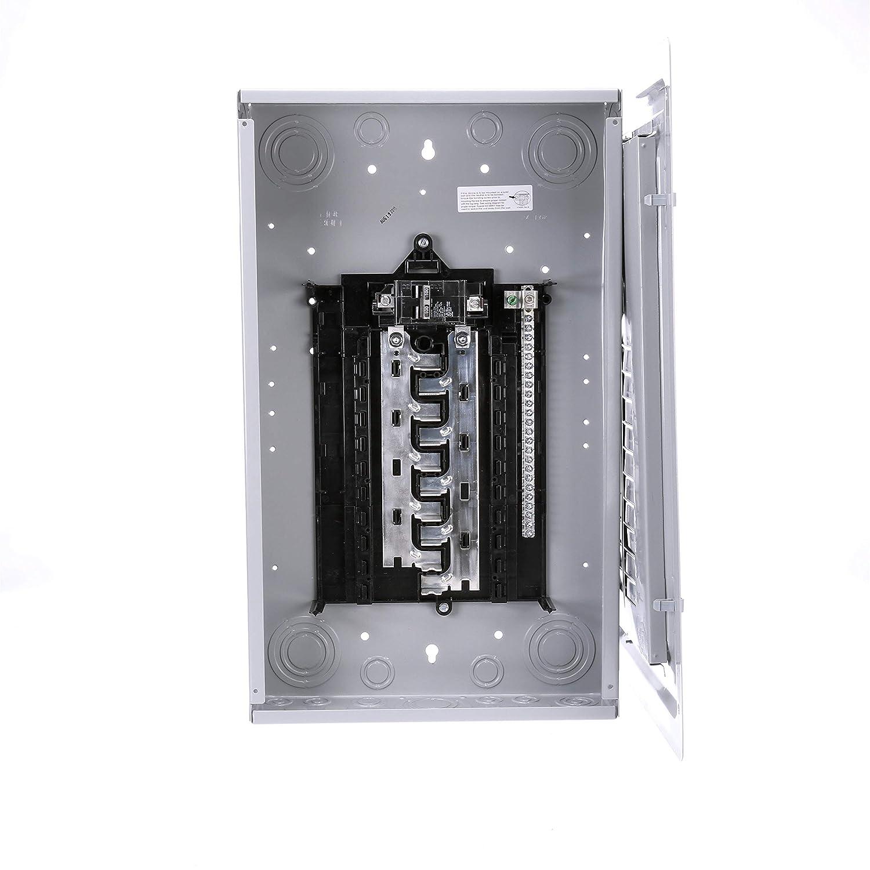 Siemens S2024B1100 100 Amp 20 Space with Copper Bus Bars Siemens -HI US2:S2024B1100 Indoor Main Breaker Load Center 24 Circuit