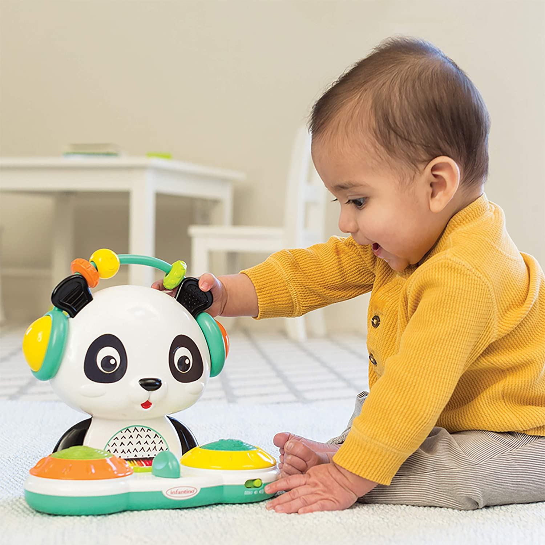 DJ Panda Table de mixage Platines Lumineuses Multicolore Infantino