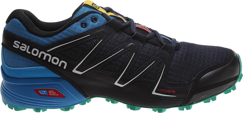 SALOMON Herren Speedcross Vario Traillaufschuhe, blau, 49.3 EU