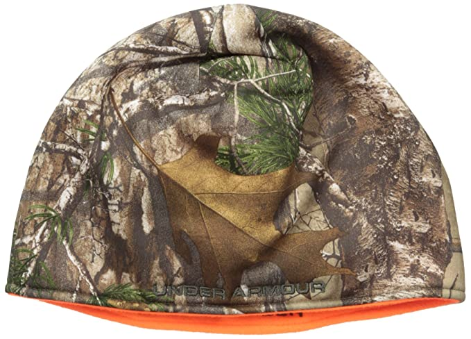 8888cc1caae6d Amazon.com  Under Armour Men s Reversible Camo Beanie  Clothing