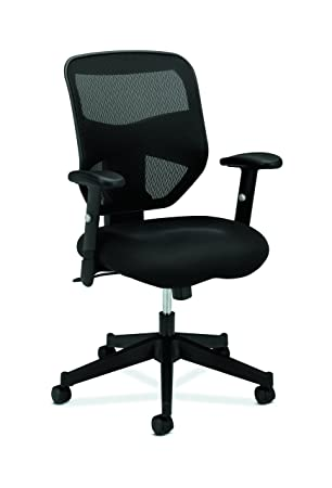 Wonderful Amazon.com: HON Prominent High Back Work Chair   Mesh Computer Chair For  Office Desk, Black (HVL531): Kitchen U0026 Dining