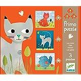 Djeco - 81207 - Puzzle Primo - Les Chats - 16 Pièces