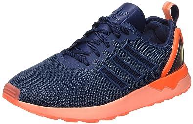 f91b7e897 Adidas Men s Zx Flux Adv Training Running Shoes Mini Blue Solar Orange)