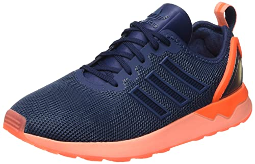more photos 0fc7b f47e5 Adidas - ZX Flux - S79013 - Color: Navy Blue-Orange - Size ...