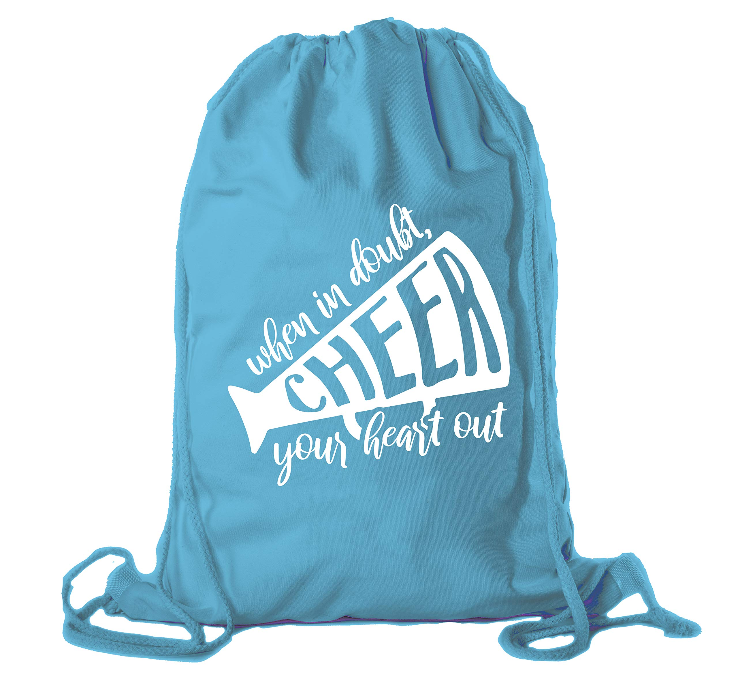 Cheerleading Backpacks, Cheer and Pom Drawstring Bags, Cheerleader Team Cinch Bags