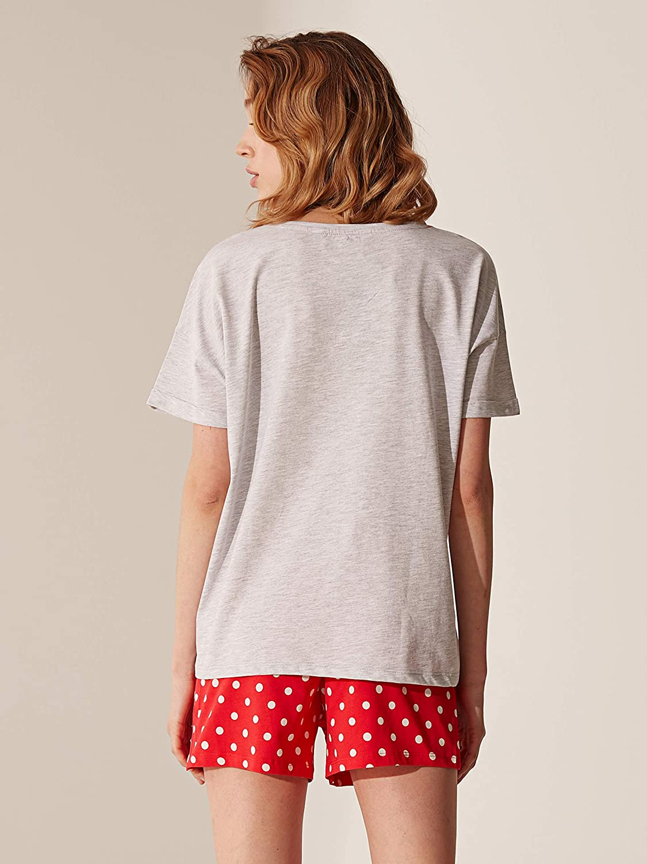 LC WAIKI Ensemble pyjama pour femme avec short