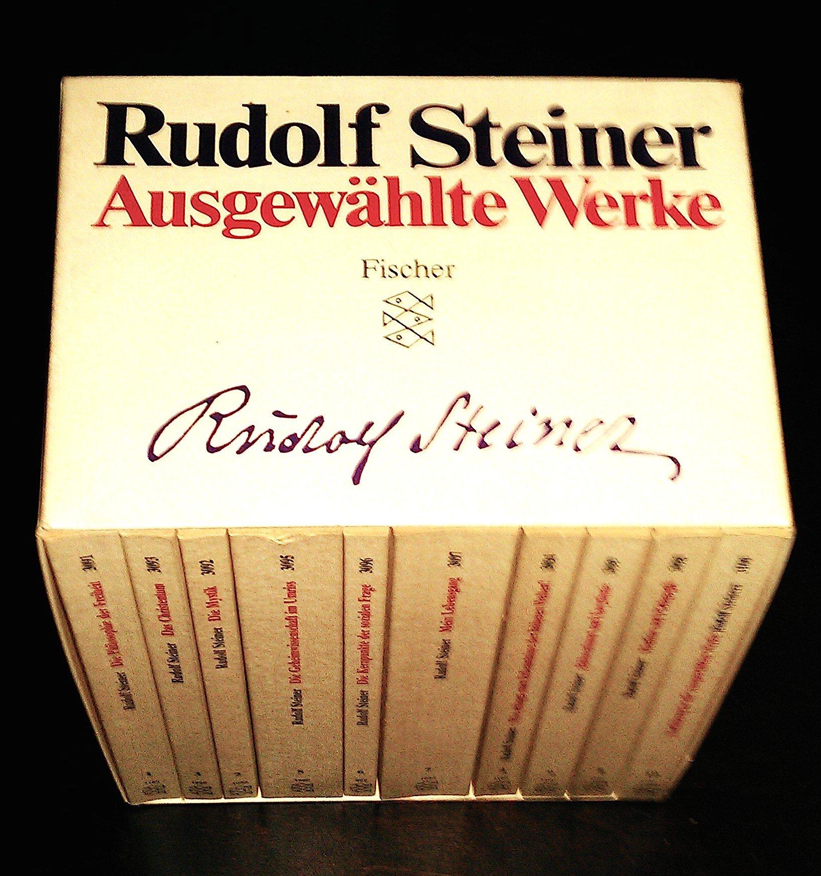 Rudolf Steiner - Ausgewählte Werke: Kassette