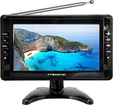 Trexonic TRX-G1018LCD Televisor LCD portátil Ultra Ligero y ...
