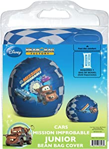 Disney Cars Mission Improbable Junior Bean Bag Chair Cover