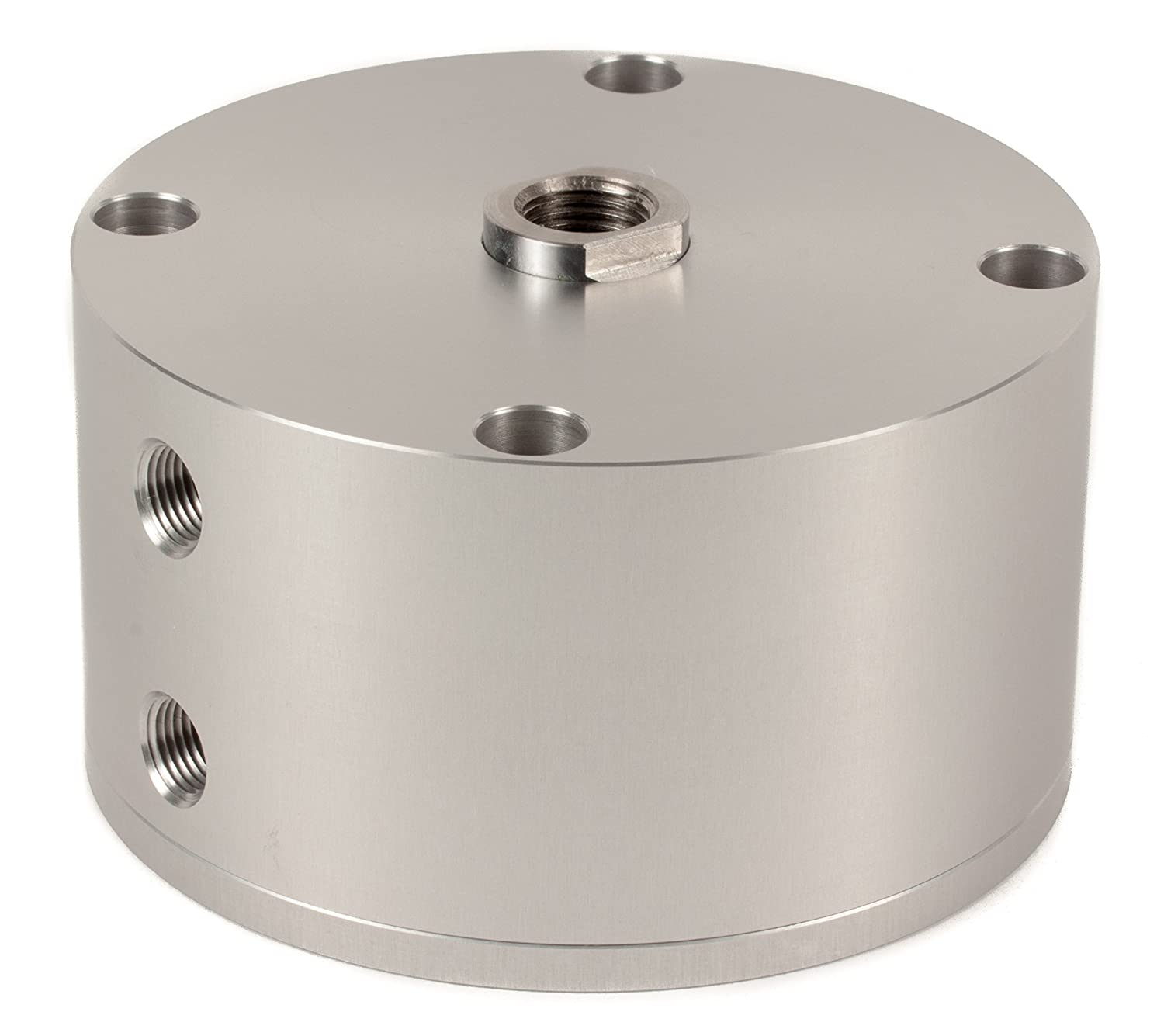 Fabco-Air B-521-X Original Pancake Cylinder, Double Acting, Maximum Pressure of 250 PSI, 2-1/2' Bore Diameter x 3/4' Stroke