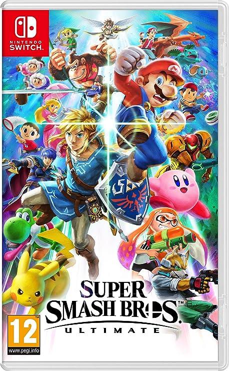 Super Smash Bros Ultimate - Nintendo Switch [Importación italiana ...