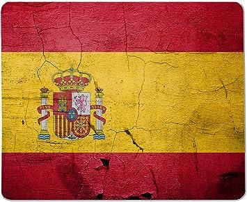 Yeuss Banderas Españolas Alfombrilla Rectangular Antideslizante España Bandera Vintage, Bandera Vintage Shabby Computer Decoración De Escritorio 200mmx240mm: Amazon.es: Electrónica