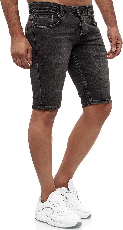 Designer Denim Shorts Stretch Jeans da uomo 19536 Tazzio Jeans Shorts Bermuda Slim Fit