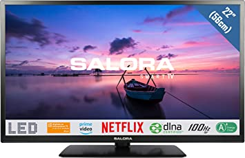 Salora 22FSB6502 FHD Smart TV - Televisor (56 cm): Amazon.es: Electrónica