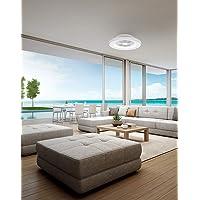 Mantra Iluminación. Modelo TIBET. Ventilador y plafón de techo de 65 cm de diámetro en…