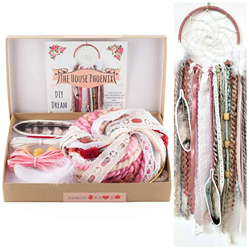 Amazon Pink DIY Dream Catcher Kit Craft Project Do It Yourself