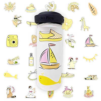 Super Cute VSCO Sticker Set - Decorate Water Bottles, Laptops, Cellphones, and Tablets with Removable Sticker Sets: Arts, Crafts & Sewing