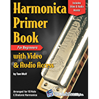 Harmonica Primer Book For Beginners With Video and Audio Access book cover
