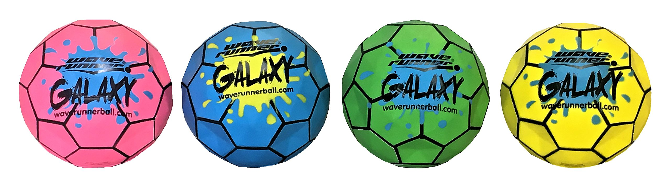 Wave Runner Galaxy Ball #1 Water Ball for Skipping and Bouncing The Perfect Pool Ball and Ocean Ball by Wave Runner
