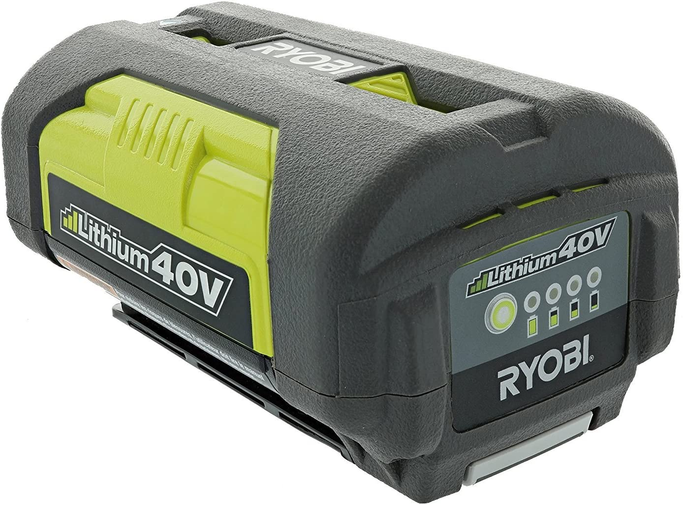 Ryobi OP4026A Genuine OEM 40V High-Capacity Lithium Ion Battery w// Fuel Gauge