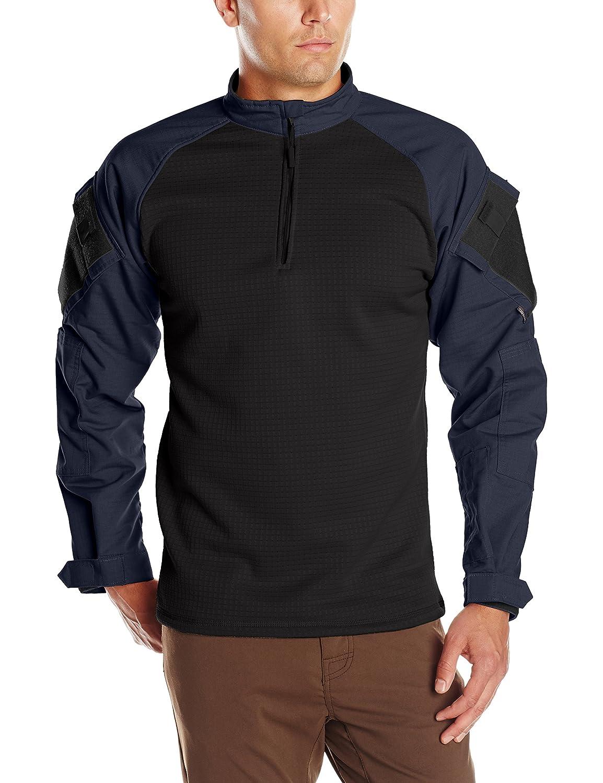 b16ca9301ea Amazon.com  Tru-Spec Men s Tru 1 4 Zip Winter Combat Shirt  Clothing