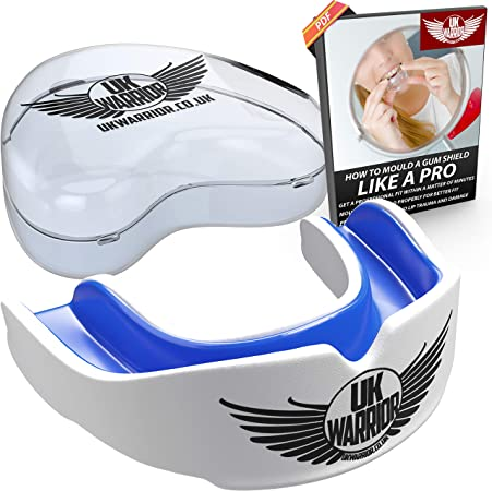 UK Warrior Gum Mouth Teeth Guard Protection Shield MMA Karate Rugby Sport Piece