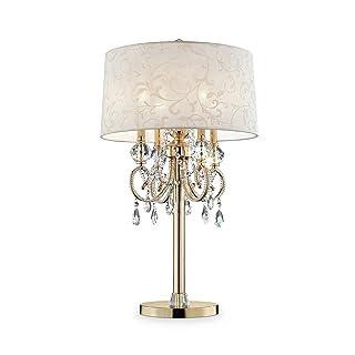 "OK Lighting OK-5155T 32.5"" H Aurora Table LAMP"