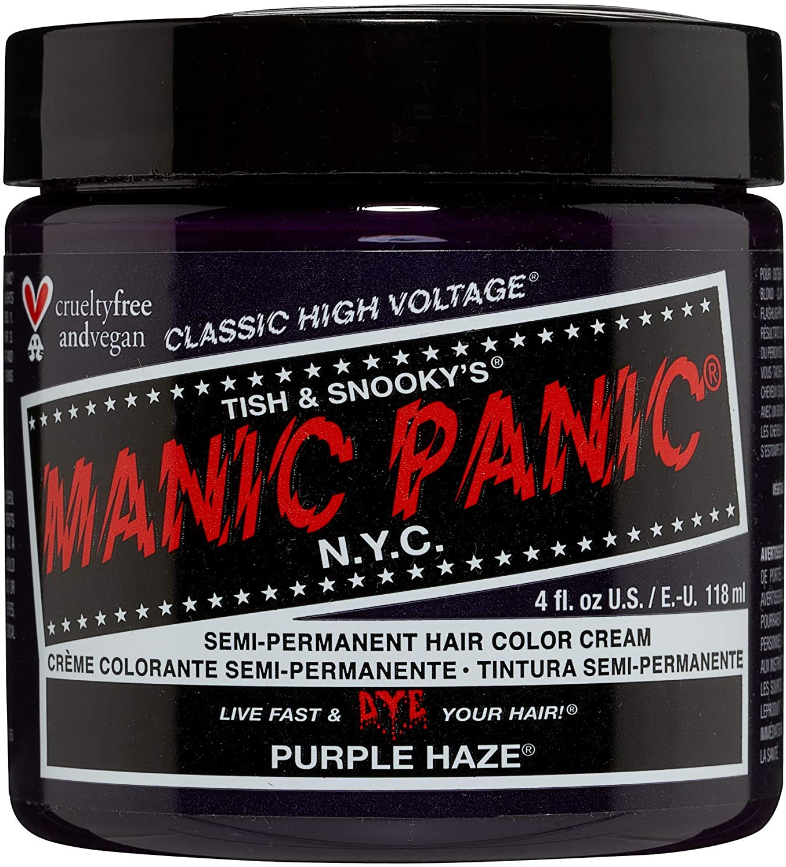 Manic Panic - Purple Haze Classic Creme Vegan Cruelty Free Semi-Permanent Hair Colour 118ml