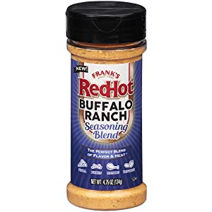 Frank's RedHot Seasoning Blend Buffalo Ranch, 4.75 oz