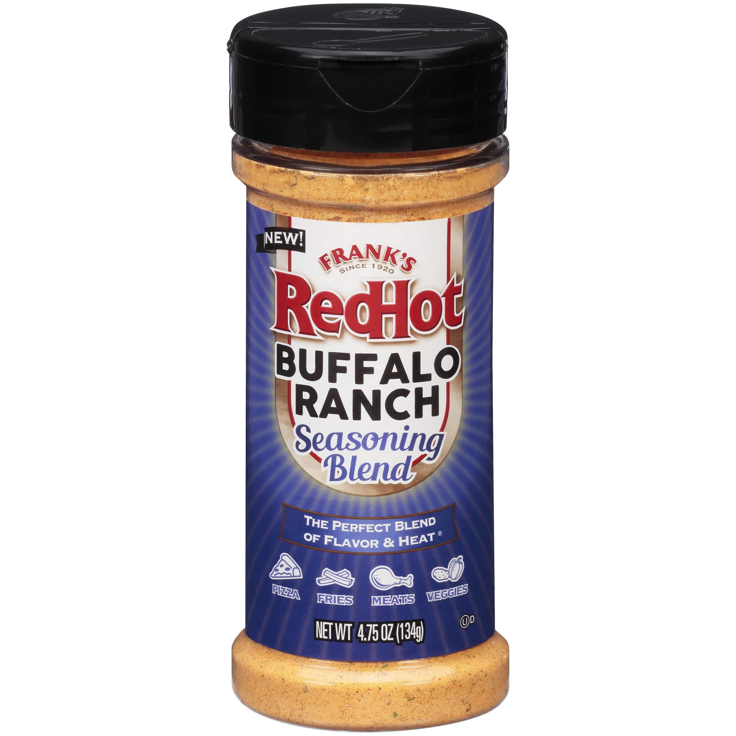 Frank's RedHot Buffalo Ranch Seasoning Blend, 4.75 oz