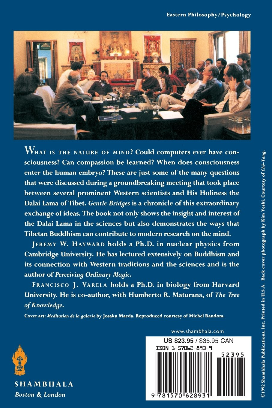 Gentle Bridges: Conversations with the Dalai Lama on the Sciences of ...