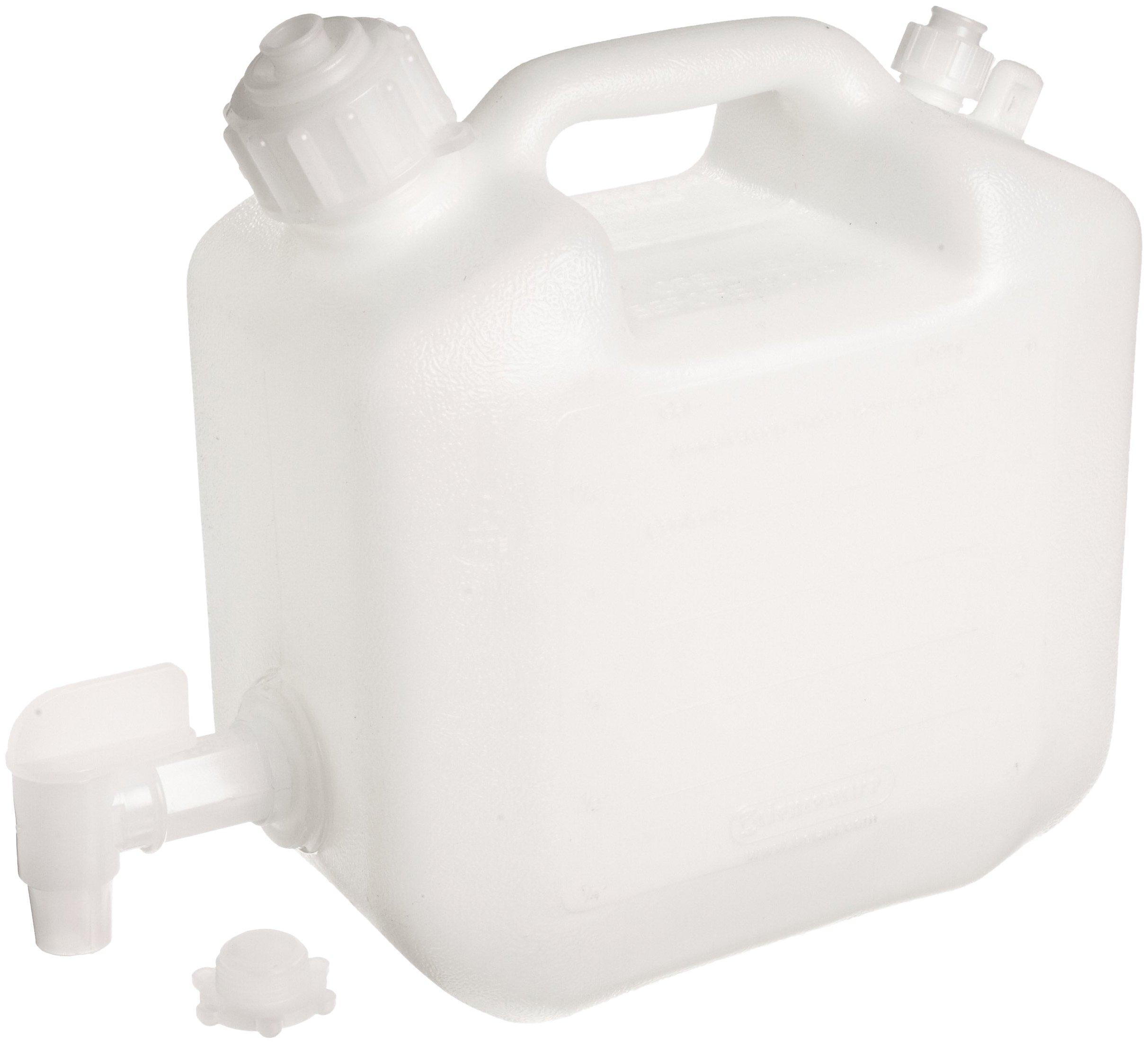Bel-Art Polyethylene Jerrican with Spigot; 5 Liters (1.25 Gallons), Screw Cap, 1 in. I.D. Spout (F11859-0010)