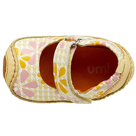 Umi Pearl Mary Jane (Infant/Toddler),Soft Yellow Floral,16 EU