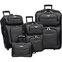 Travelers Choice Amsterdam 4-Piece Luggage Set