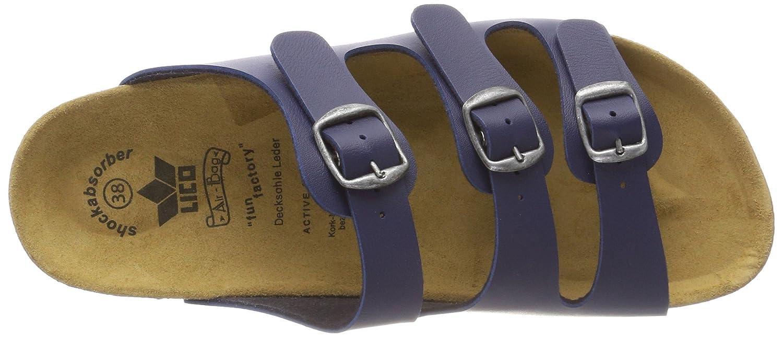 Lico Damen Bioline Classic Pantoletten Blau Marine) (Marine Marine) Blau 5829cb