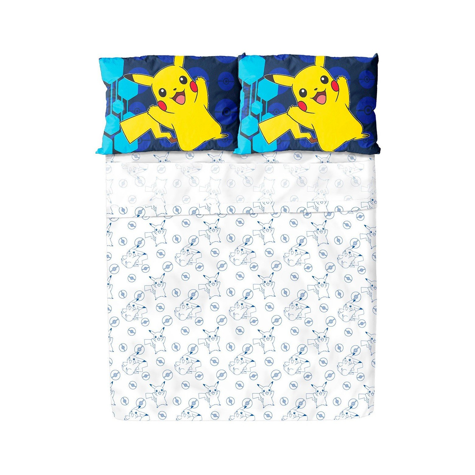 Franco Pokemon Twin Sheet Set