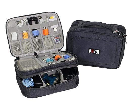 Amazon.com: Electronics Travel Organizer Waterproof Storage Bag ...