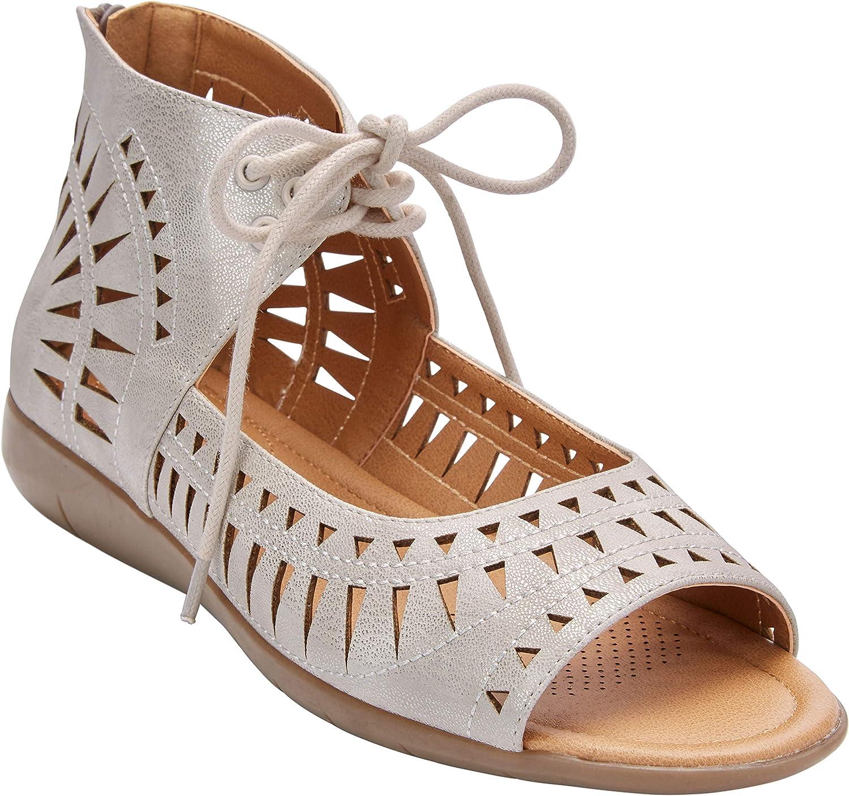 Comfortview Women's Wide Width The Averie Sandal