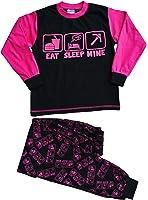 Eat Sleep Mine Pyjamas, Girls Pyjamas, Pink Sizes 7-14 Years