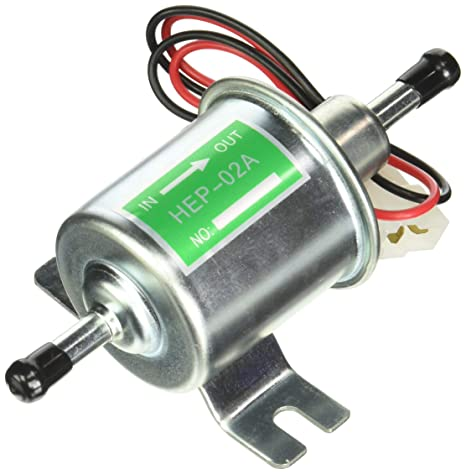 L//h 4-7 PSI Universal Gas Diesel Inline Low Pressure Electric Fuel Pump 12V 70