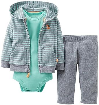 54ab2f9d3ec7 Amazon.com  Carter s Baby Boys  3 Piece Cardigan Set (Baby ...