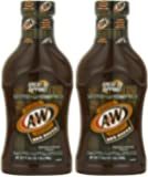 A & W Rich 'N Hearty Barbecue Sauce, 17.5 Oz