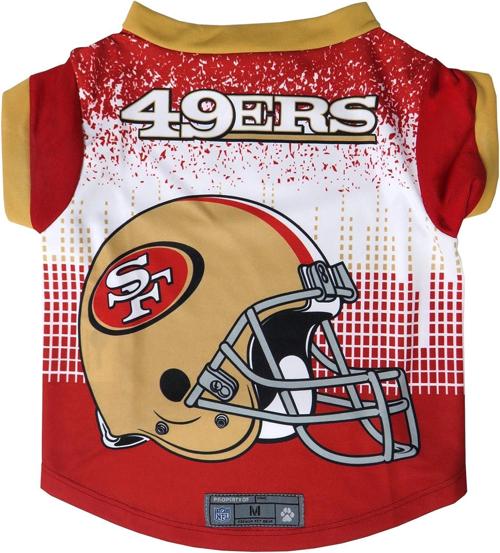 NFL San Francisco 49ers Pet Performace T-Shirt XS