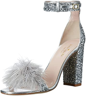 Amazon kate spade new york womens ilona dress sandal shoes kate spade new york womens ilona dress sandal silver junglespirit Image collections
