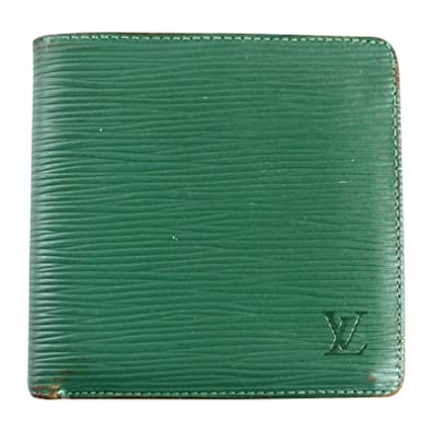 competitive price 56ce8 0d338 Amazon   (ルイヴィトン) LOUIS VUITTON エピ 緑 グリーン 二 ...