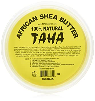 Taha African Shea Butter Cream (100% Pure & Raw, ...